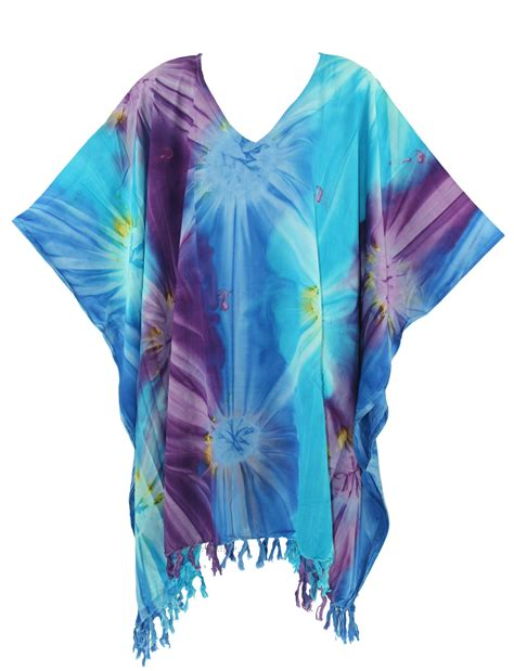 tie dye blouse boho hippie tie dye plus size tunic blouse kaftan
