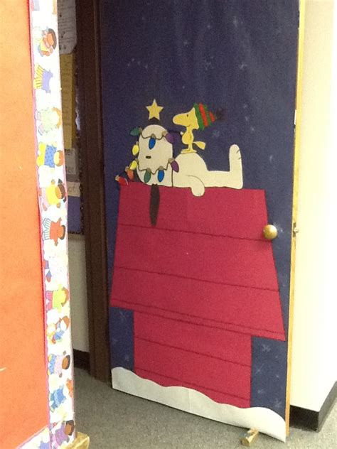 Snoopy Classroom Door Decorations by 17 Best Images About Door Decor On Snowman