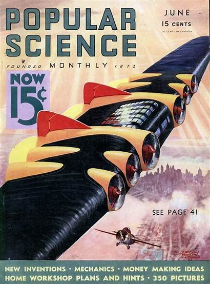 Magazine Covers 1933 Popular Science Ads Magazines