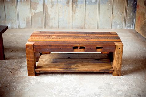 Reclaimed Wood Coffee Table Home — All Furniture Unique