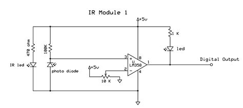 photodiode light detector circuit image gallery photodiode schematic