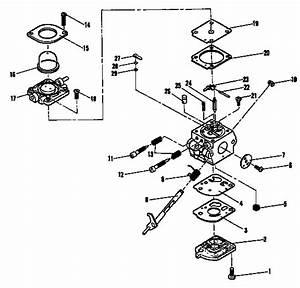 Echo Leaf Blower Parts Diagrams
