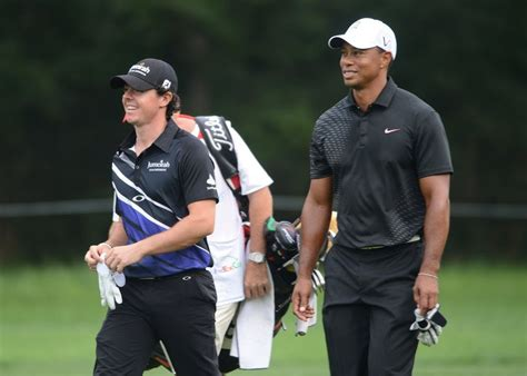 Tiger Woods, Rory McIlroy play 1st PGA Tour round together ...