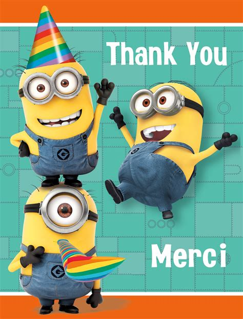 Images Minions Thank You  Images Hd Download