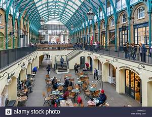Covent Garden London Shops And Cafes Inside Covent