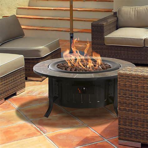 outdoor gas fireplace table bond bolen steel outdoor gas table top fireplace reviews