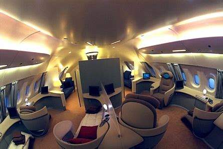 cool jet airlines boeing  interior