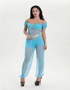 Arabian princess jasmine costume women Aladdin's Jasmine cosplay halloween costumes for women ...