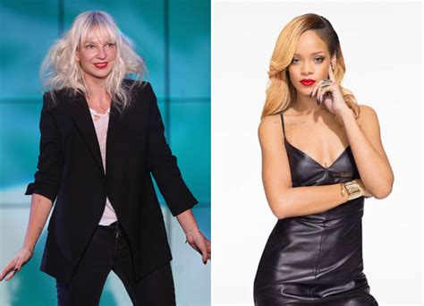 Sia Chandelier Rihanna by Sia S Catchy New Track Chandelier Meant For Rihanna