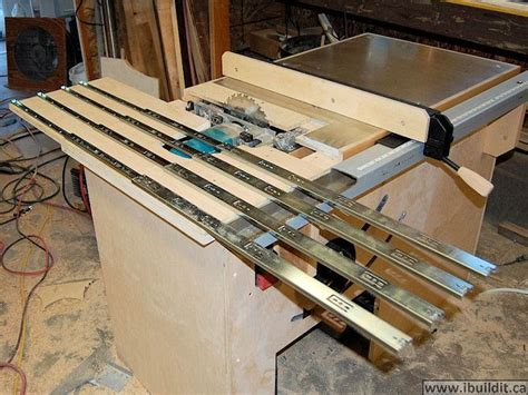 make a table saw table how to make a table saw ibuildit ca