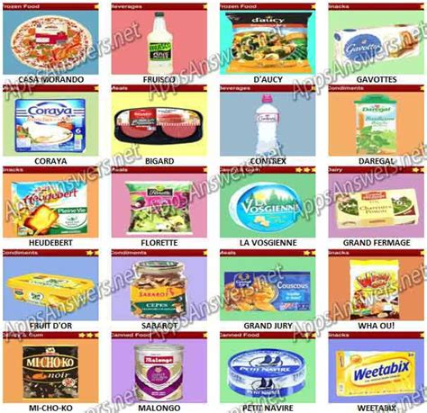 quiz cuisine food quiz trivia pack 13 answers apps answers