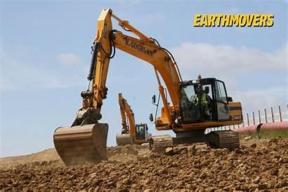 Excavator Wallpapers Jcb Desktop Wallpapersafari Excavators Tracked