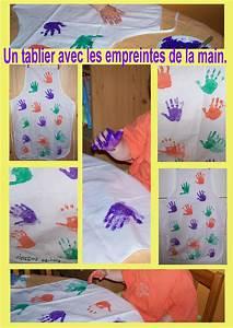 Tablier Fete Des Peres : un tablier avec les empreintes de la main de l 39 enfant ~ Premium-room.com Idées de Décoration