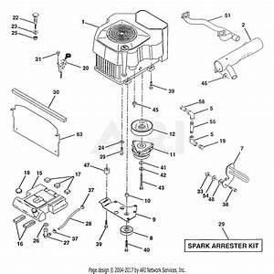 Poulan Pro Chainsaw Parts Diagram Pp4218avx