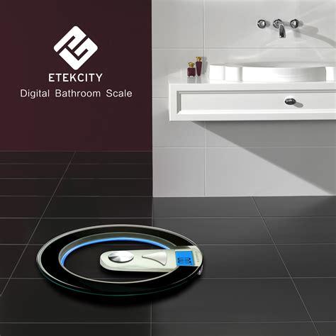 etekcity digital bath bathroom body weight watcher scale    poundsblacksilver