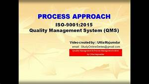 Process Approach Iso 9001 2015 Quality Management Systems