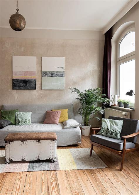Wohnzimmer Wandfarbe Sand by Beige Als Wandfarbe Dezent Und Edel