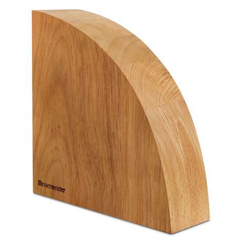messermeister beechwood magnetic knife block cutlery