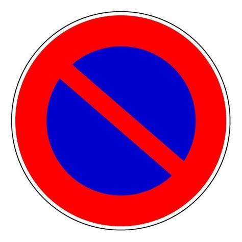 epi panneau rond interdiction de stationner
