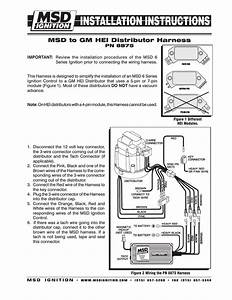 Wiring Diagram  30 Msd Hei Distributor Wiring Diagram