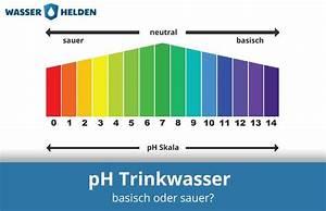 Aus Ph Wert Konzentration Berechnen : der ph wert unseres trinkwassers basisch oder sauer ~ Themetempest.com Abrechnung
