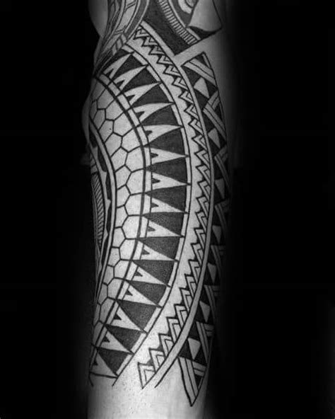 40 Polynesian Forearm Tattoo Designs For Men - Masculine