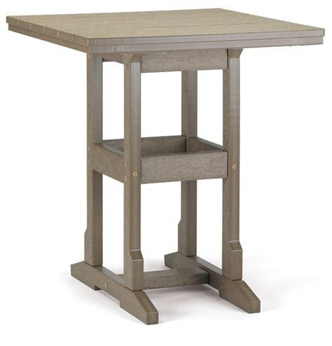 breezesta 32 x 32 inch square counter table seats 4