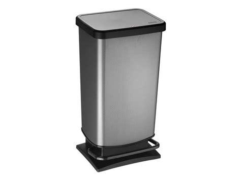 poubelle cuisine plastique poubelle de cuisine 40 l paso conforama pickture