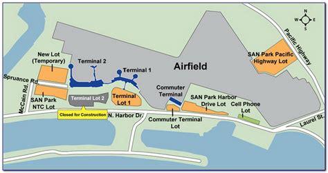map  denver international airport parking maps