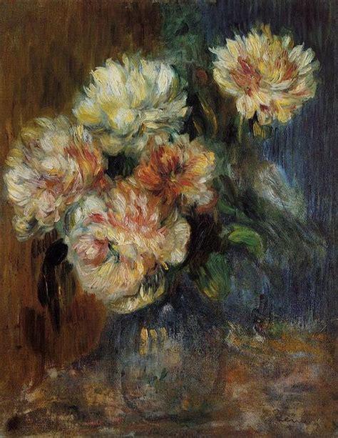 Vase Des Pivoines 1890 De Pierre Auguste Renoir 1841
