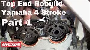 Motorcycle Top End Rebuild On Yamaha Four Stroke  Part 1 Of 2
