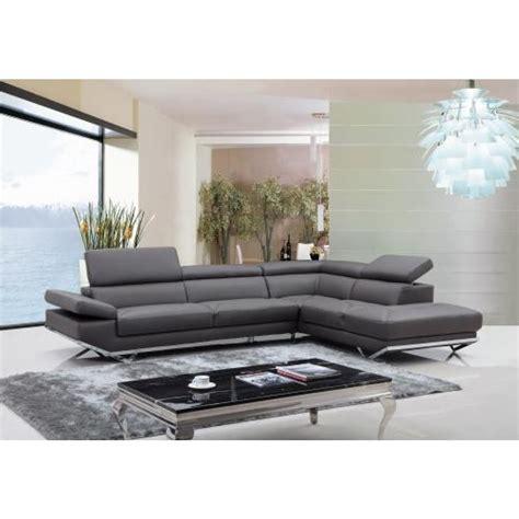 canape en angle canapé d 39 angle en cuir véritable siena pop design fr