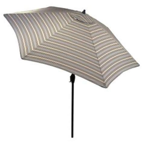 hton bay 9 ft aluminum market patio umbrella in cement