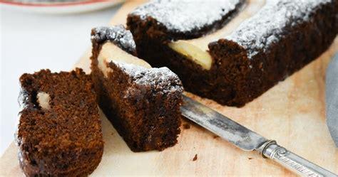 dark treacle banana gingerbread vegan recipe tinned