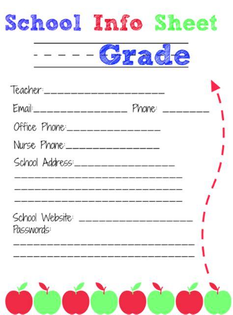 School Binder Organization + Free Printables
