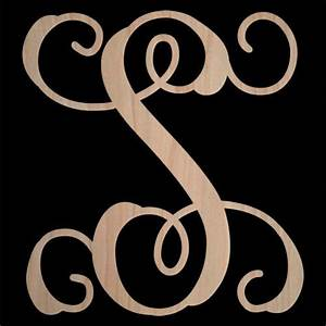 14 inch single wooden monogram letter wooden letters wood With 14 inch wooden letters
