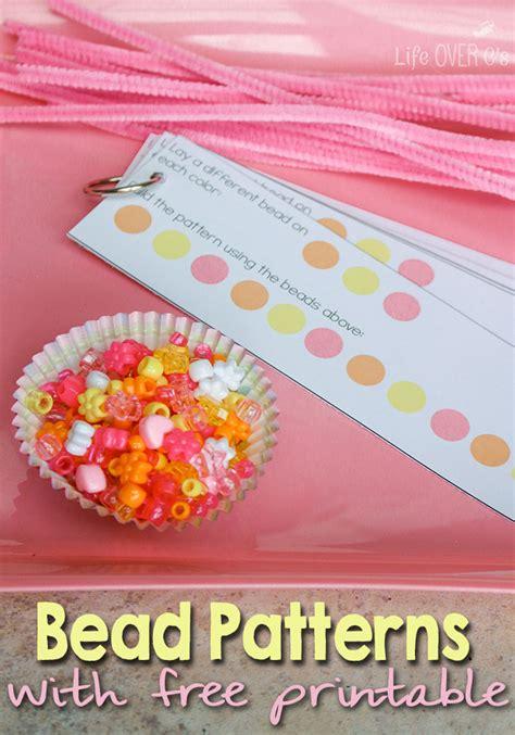 bead pattern printables  homeschool deals