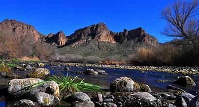 Scottsdale Arizona River Salt Az Lower Travel