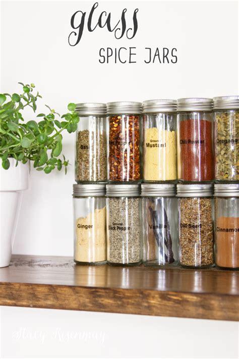 Kitchen Spice Jars Glass by Finds Spice Jars We Create Spice Jars Glass