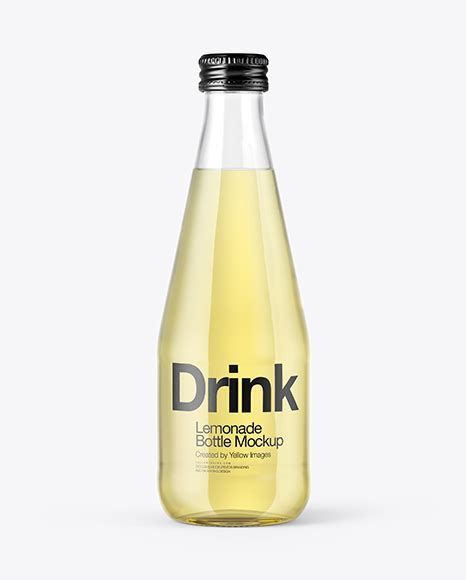 Introducing the free whisky glass bottle mockup for your unique packaging. Clear Glass Bottle With Lemonade Mockup in Bottle Mockups ...
