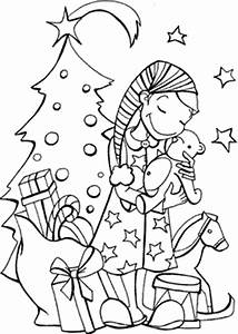 christmas coloring in pages - free christmas coloring pages to print
