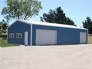 steel garages steel garage buildings With 30x50 garage packages