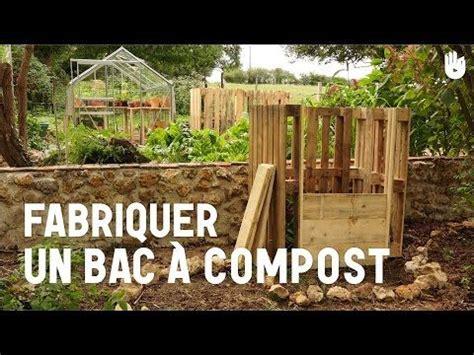 fabriquer  bac  compost composteur fabriquer
