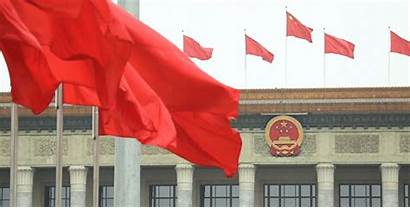 China Chinese Flags National Tiananmen Square Fly
