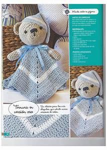 Patrones Gratis De Crochet  Manta De Apego Para Bebe A