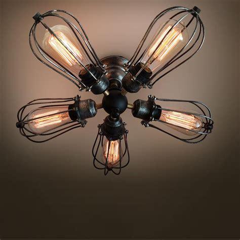 edison light ceiling fan 5 arm industrial ceiling light edison bulb ceiling ls