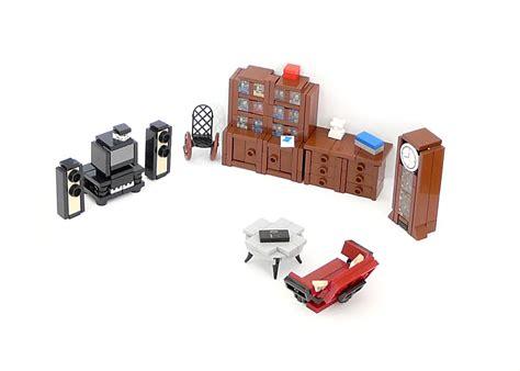 Lego Ideas  Minifig Furniture  Living Room