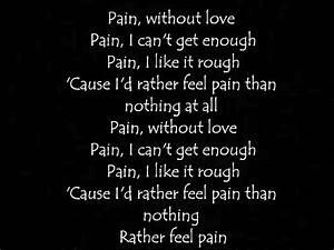 Three Days Grace[Pain] Lyrics - YouTube