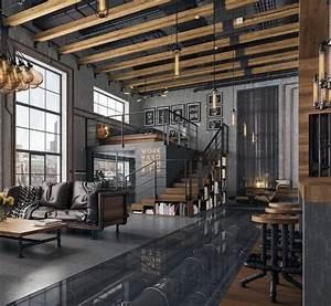 Top, 50, Best, Industrial, Interior, Design, Ideas