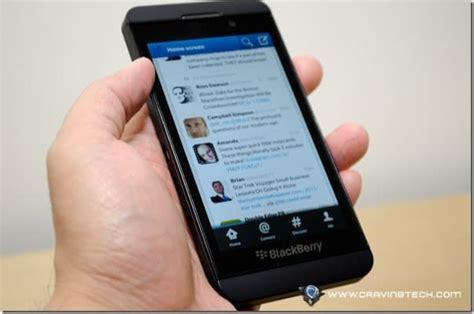 sponsored blackberry z10 review
